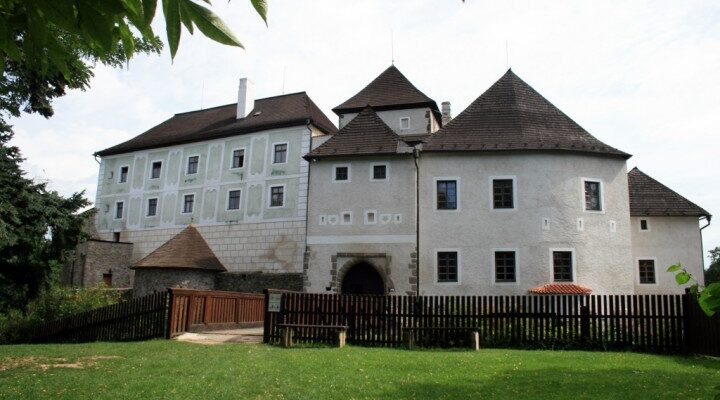 Nové hrady, Hrad